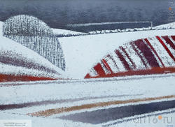 Елена Копылова, Архангельск, 1967. «Ритмы апреля», 2004, кар.м., 70х95