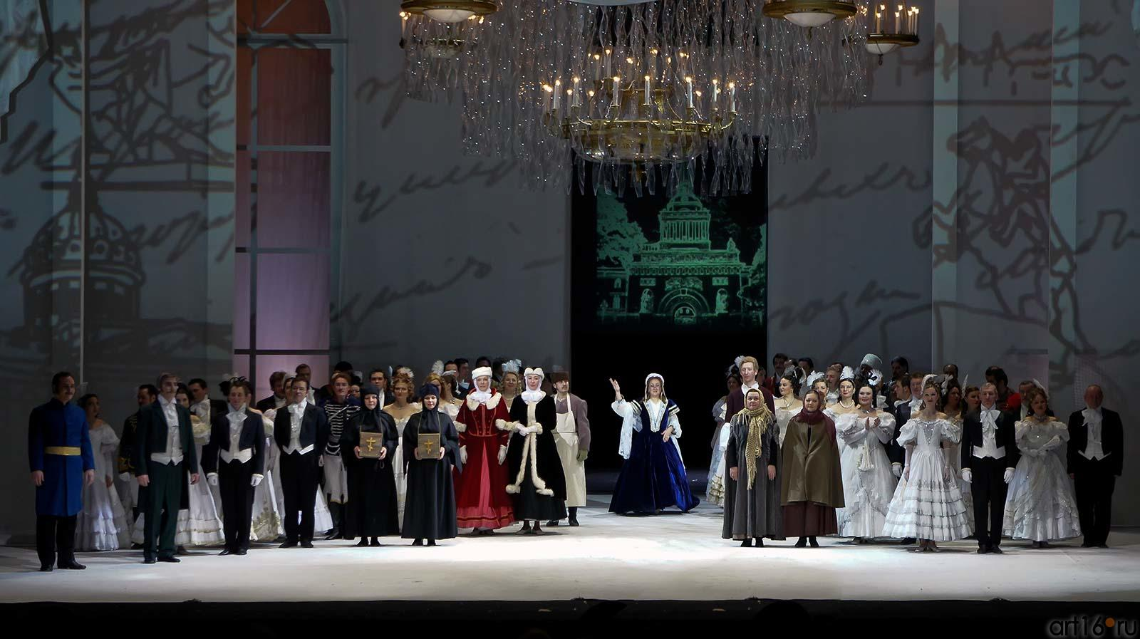 Седьмая картина. Финал оперы  П.И.Чайковского ʺЕвгений Онегинʺ::Опера П.И.Чайковского «Евгений Онегин»