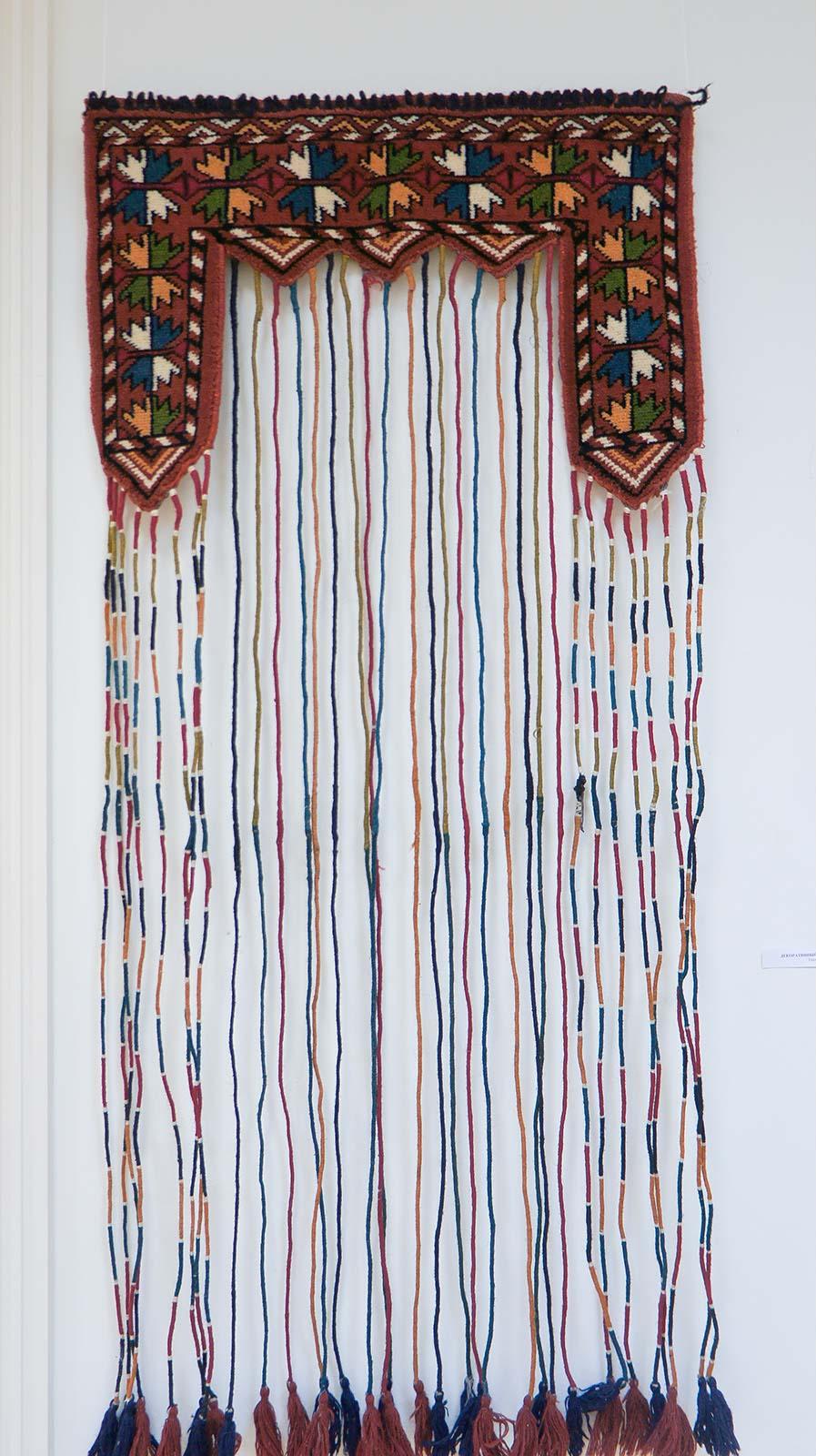 Фото №92076. Декоративный ковер на окно. Ткачество