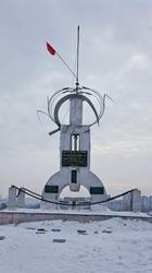 Памятник «Борцам революции» на горе Вышка