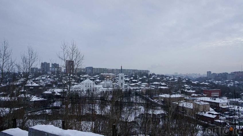 Вид на город с террасы г.Вышка::Мотовилиха