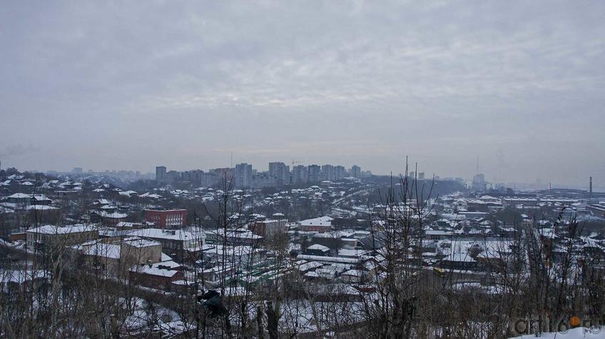 Фото №92258. Вид на город с горы Вышка. Пермь, январь 2011