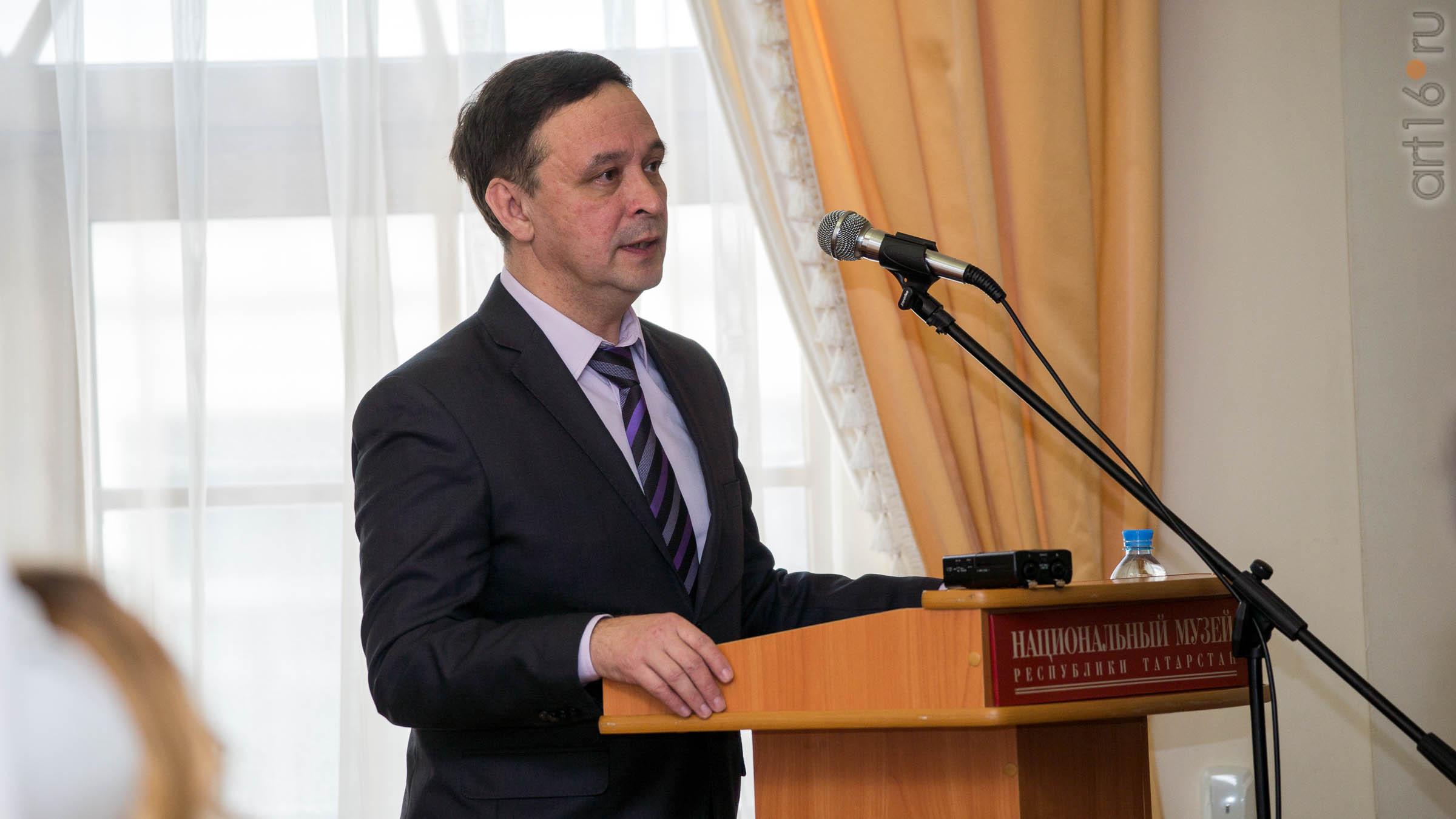 Салихов Радик Римович::Расширенное заседание Ученого совета НМ РТ