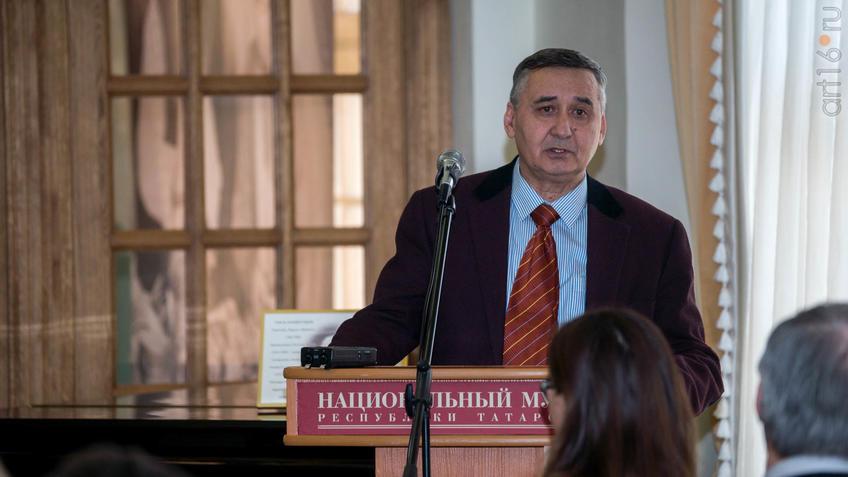 Фото №922695. Валеев Рафаэль Миргасимович, д.и.н., профессор, заслуженный работник культуры РТ