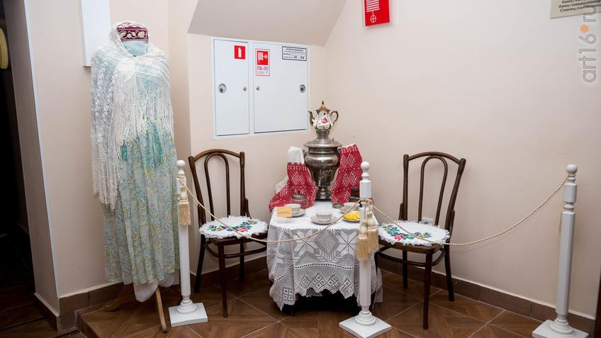 Платье женское «Весенний ветер»::Ветер перемен в татарской национальной одежде