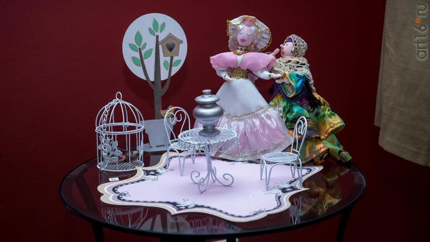 Кукла «Ай-бике». Л.Х. Алимбек-Тагирова::Ветер перемен в татарской национальной одежде