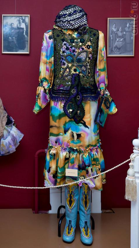 Платье «Кульмек»::Ветер перемен в татарской национальной одежде