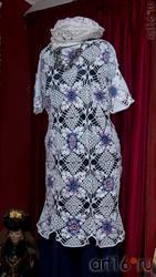 Женский комплект (платье, берет). Л.Х.Алимбек-Тагирова