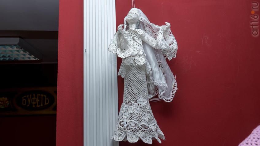 Кукла «Сююмбике» (вязание крючком). Л.Х. Алимбек-Тагирова::Ветер перемен в татарской национальной одежде