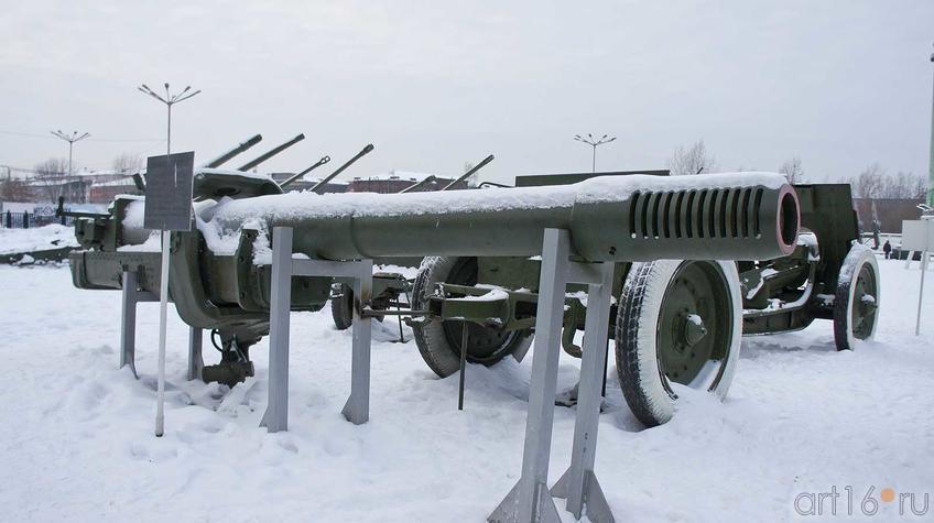 Фото №92308. Ствол самоходной ПУШКИ МЛ-20С [ СУ-152]