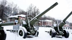 122 мм гаубица М-30 Конструктор ф.ф. Петров, Год выпуска 1938.