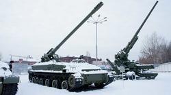 152мм Самоходная пушка 2А37, год выпуска 1976, Главный конструктор Ю.Н. Калачников