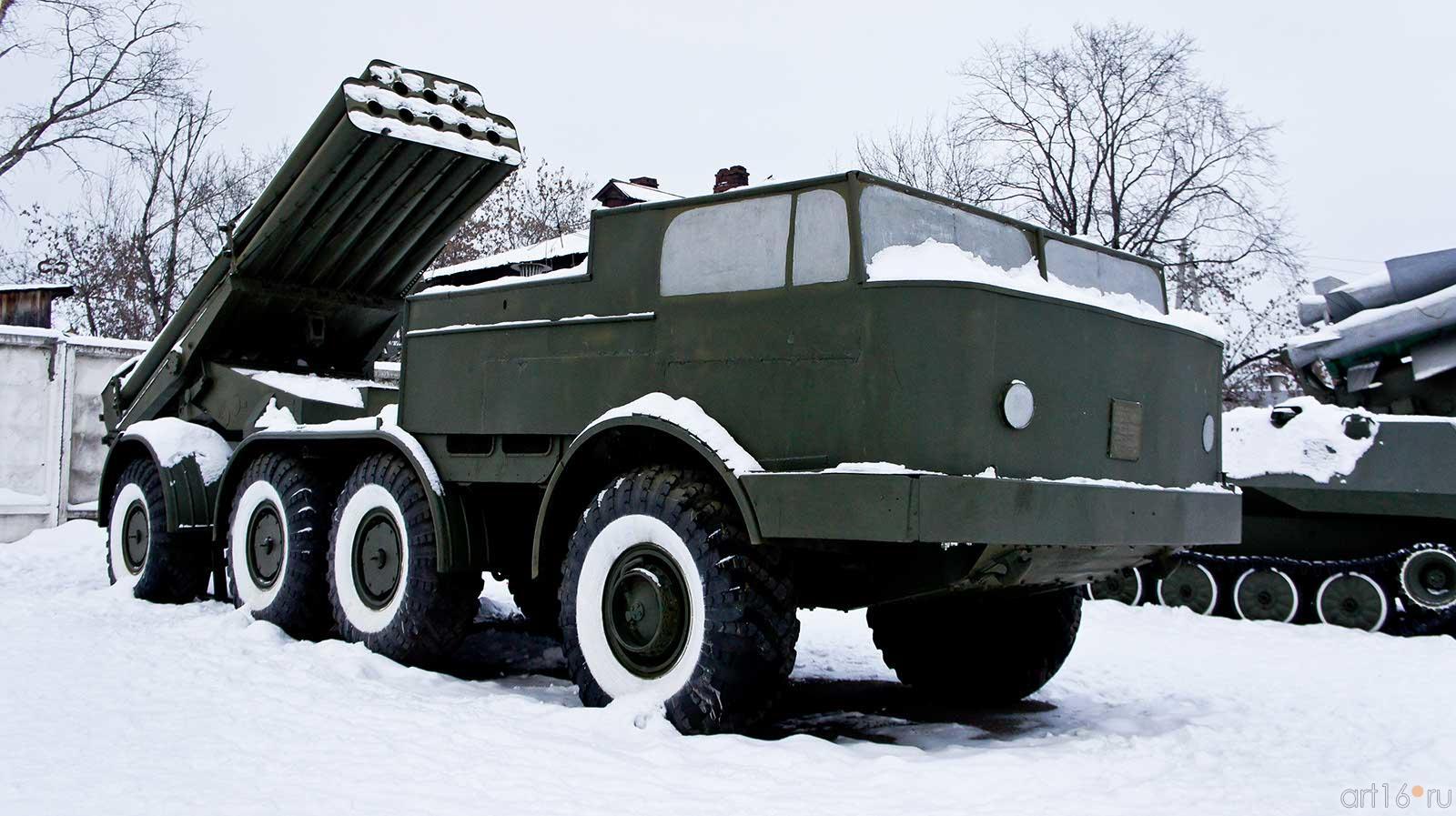Боевая машина 9П140 [РСЗО УРАГАН], г.в. 1975, главный конструктор Ю.Н. Калачников::Мотовилиха