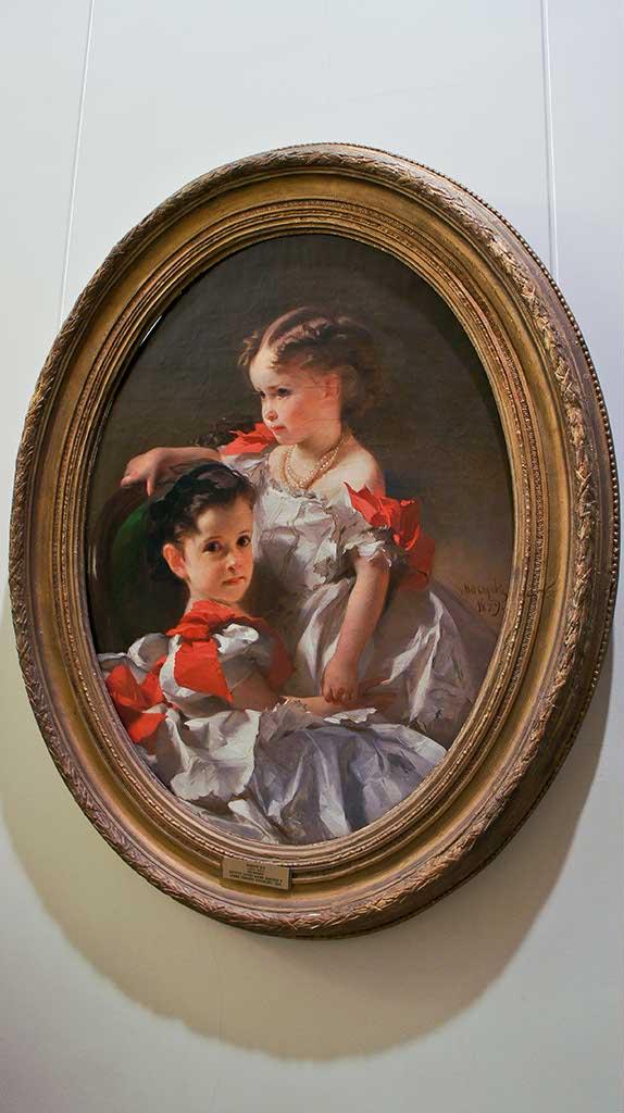 Фото №92573. Портрет сестер Марии Львовны и Софии Львовны Перовских. 1859. Макаров И.К.