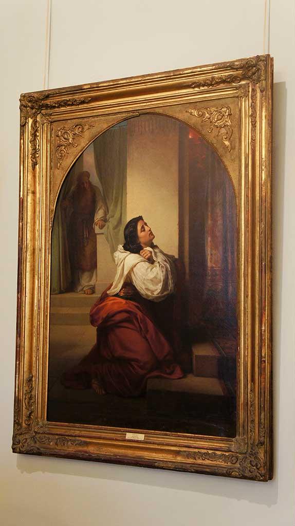 Фото №92605. Моление Св. Анны -матери Св. пророка Самуила. 1864. Верещагин В.П. (1835-1909)