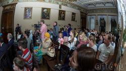Презентация в Национальной библиотеке РТ Казанского альманаха «Бирюза», июнь 2017