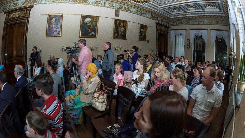 Фото №926268. Презентация в Национальной библиотеке РТ Казанского альманаха «Бирюза», июнь 2017