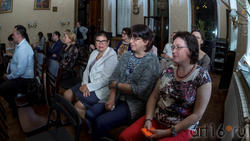 На презентации в НБ РТ Казанского альманаха «Бирюза», июнь 2017