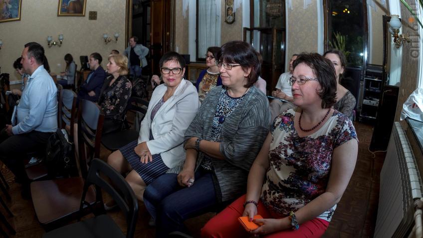 Фото №926298. На презентации в НБ РТ Казанского альманаха «Бирюза», июнь 2017