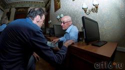 На перзентации Казанского Альманаха «Бирюза», июнь 2017