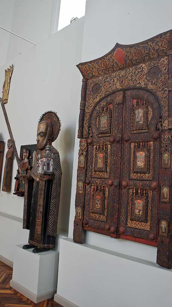 Фото №92669. Никола Можайский, XVII, из с. Покча / Царские врата, XVII, из с Ния