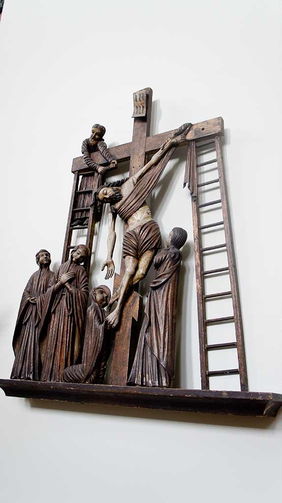 Фото №92701. Снятие с креста. XVIII/ Из с. Шакшер