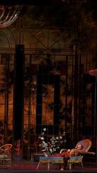Действие второе, сцена первая. Маленький домик в окрестностях Парижа
