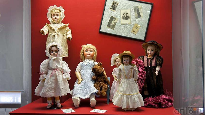 Фото №92883. Антикварные куклы из коллекции Ю.Вишневской (Германия, Франция)