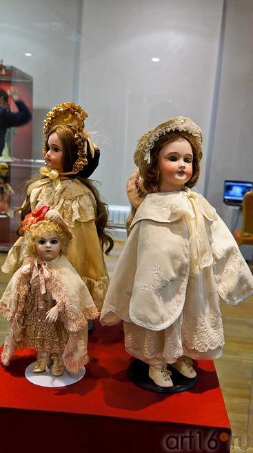 Брау. Франция, кон. XIX , фарфор / Лимож, Франция, нач. XX, фарфор::Та самая кукла