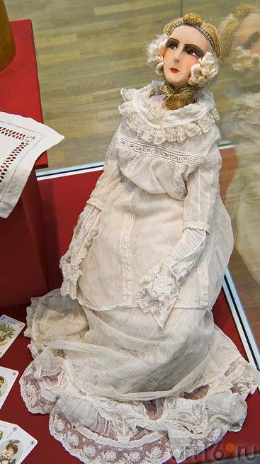Кукла будуарная, Италия, нач. XX,текстиль::Та самая кукла