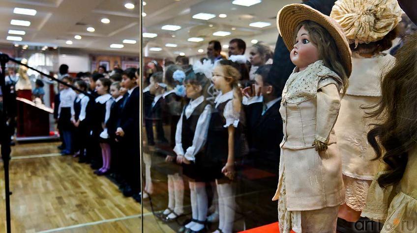 Открытие выставки ʺТа самая куклаʺ в ʺМанежеʺ, Казань::Та самая кукла