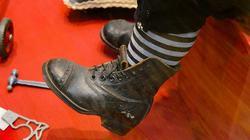 Арман Марсель, Германия, конец XIX фарфор. Фрагмент: ботинок на ноге куклы