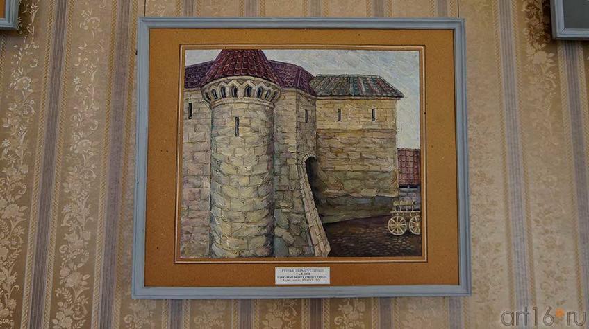 Таллин. Проездные ворота старого города.1968.  Рушан Шамсутдинов
