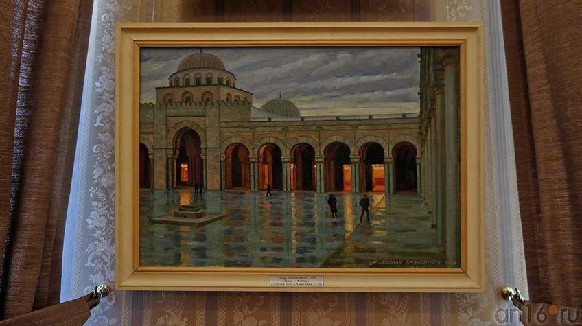 Тунис. Г.Кайруан. Соборная мечеть Сиди Укба. VII в. 1999. Рушан Шамсутдинов