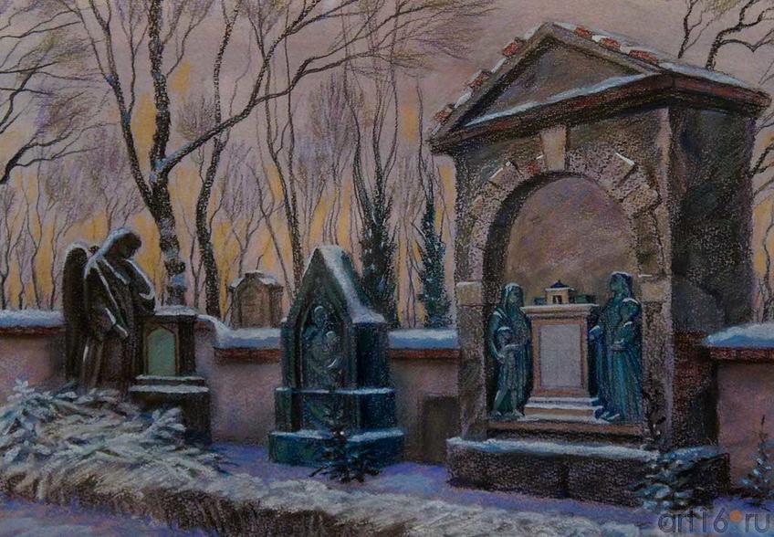 Прага. Ольшанское католическое кладбище. 2010. Рушан Шамсутдинов