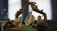 Скульпурная композиция представлена на соискание премии им.Б.Урманче