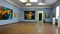 Фрагмент экспозиции выставки участников  конкурса на соискание Премии МК РТ им. Б. Урманче