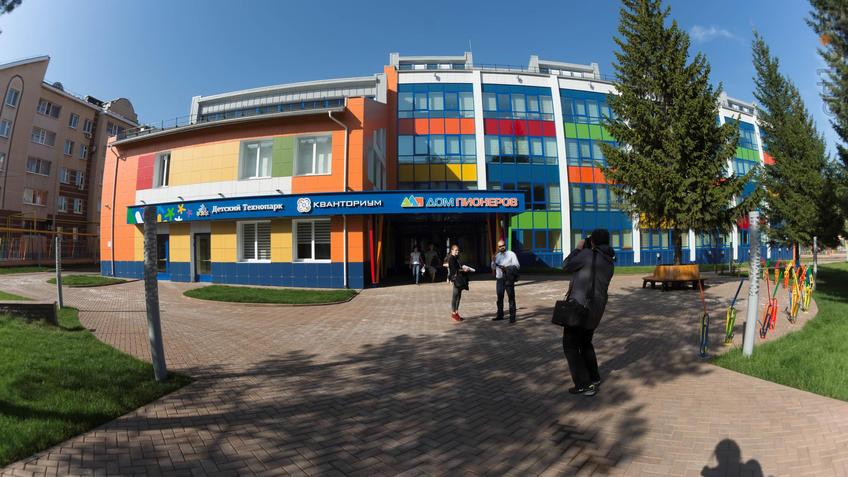 Фото №933914. Детский технпарк ''Кванториум'' (РТ, Альметьевск, Тимирязева, 20)
