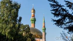 Минареты мечети им. Р.Г. Галеева в Альметьевске