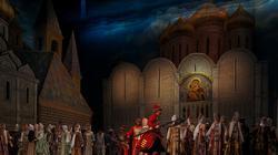 Пролог. Картина вторая. Народ  у Новодевичьего монастыря в ожидании царя Бориса