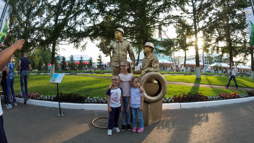 Фото №934084. Альметьевск, День города, 02.09.2017