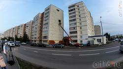 Альметьевск, ул. Бигаш, 123 (Пьяный дом)