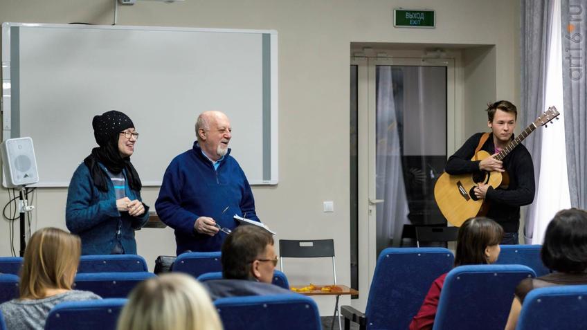 Фото №934804. Наиля Ахунова , Борис Вайнер, Олег Цыпцын