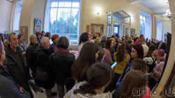 Открытие выставки живописи Елены Титовой ''Она''