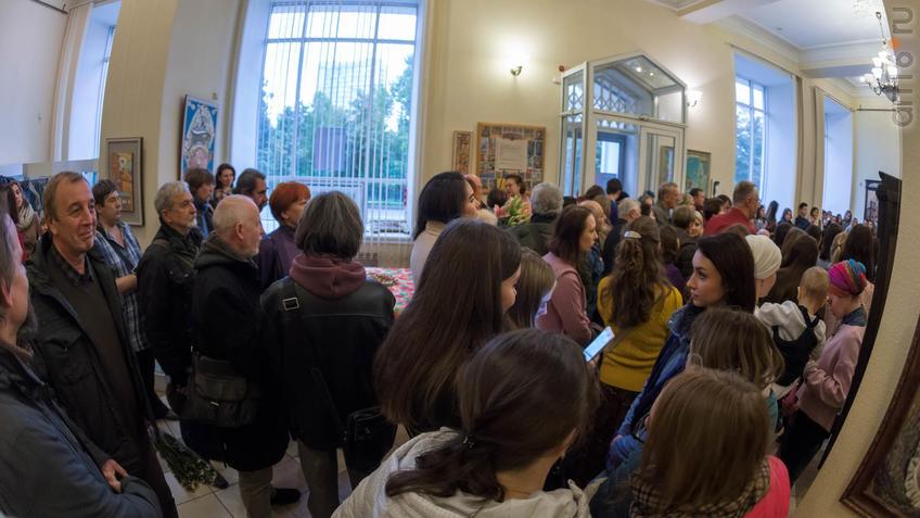 Фото №934838. Открытие выставки живописи Елены Титовой ''Она''