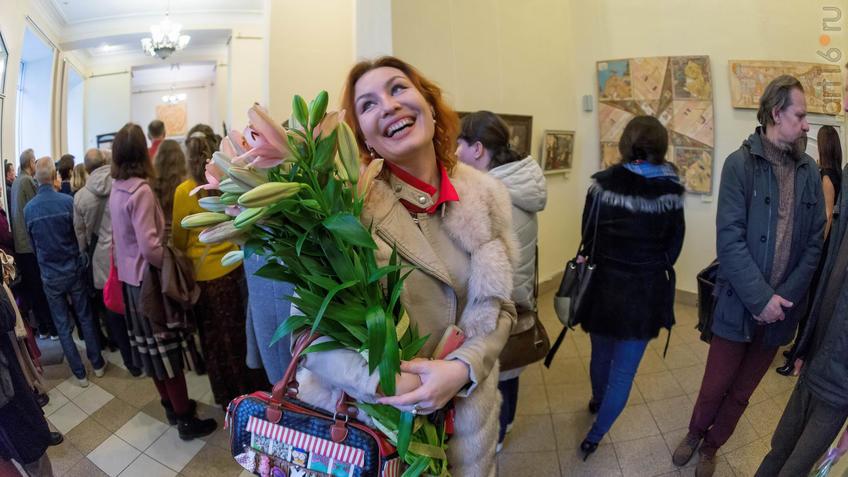 Анастасия Бузунеева::Елена Титова. Живопись. Выставка ''Она''