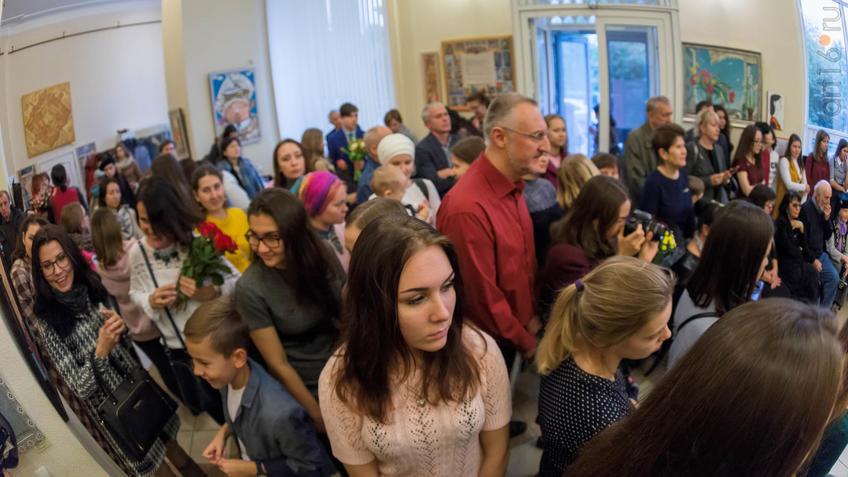 Фото №934878. Открытие выставки живописи Елены Титовой ''Она''