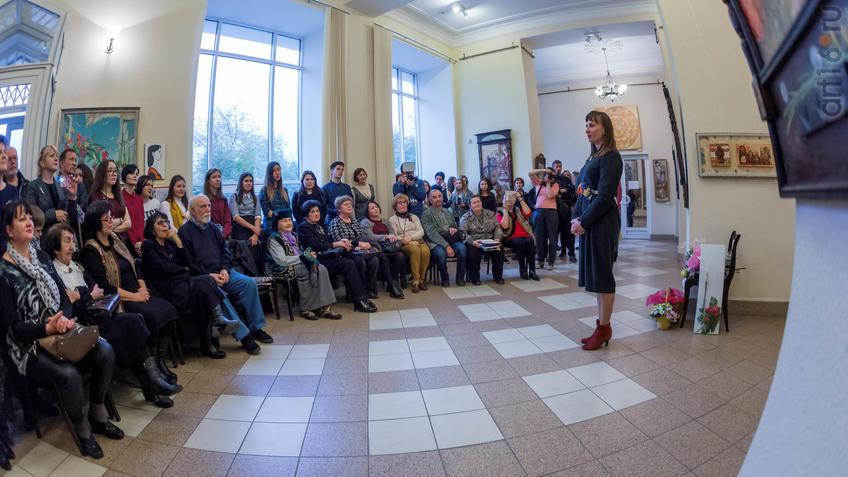 Фото №934888. Елена Титова. Открытие выставки ''Она''