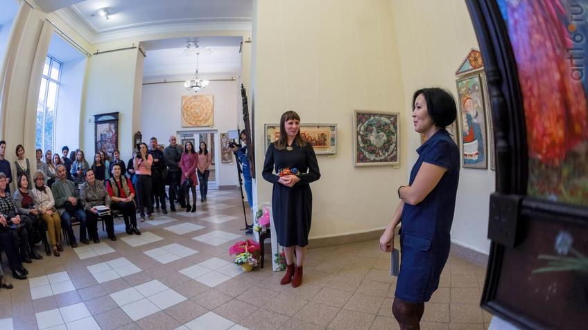 Елена Титова, Луиза Фасхутдинова::Елена Титова. Живопись. Выставка ''Она''