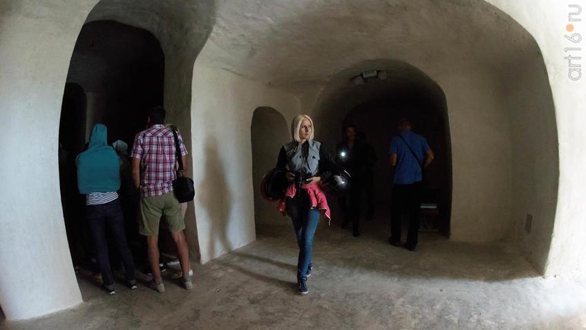 Пещерная церковь Сицилийской иконы Божьей Матери в Больших Дивах::Дивногорье. 2017 сентябрь